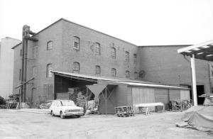 Fabriken från nordväst.